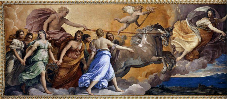 Аврора (1614) - картина эпохи возрождения