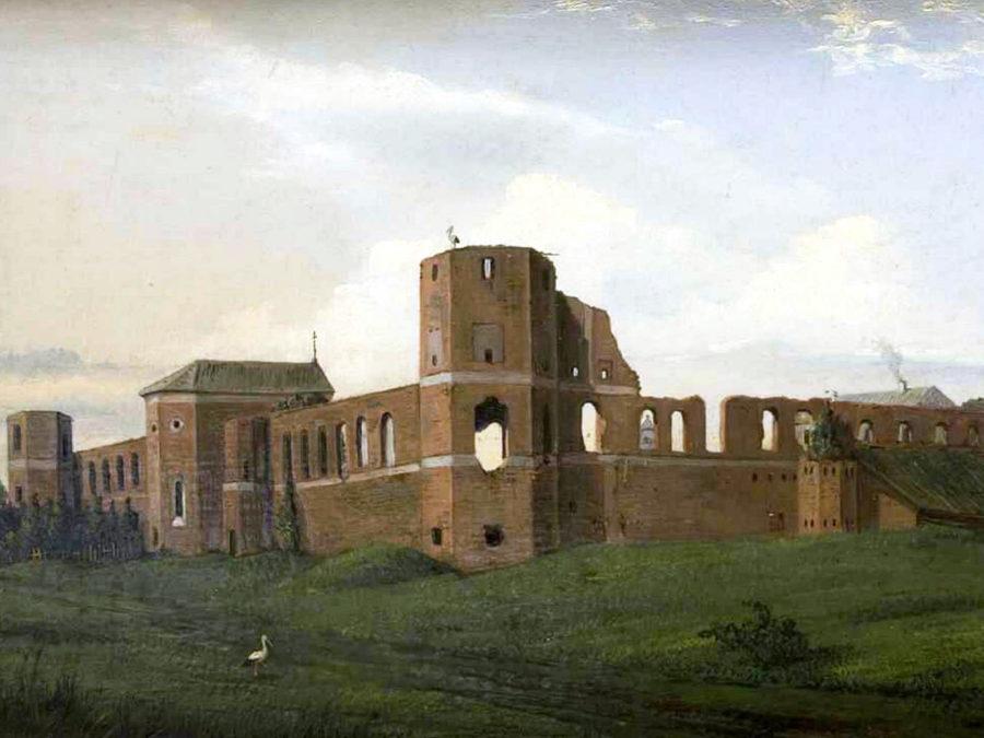 Гольшанский замок в 1853 году