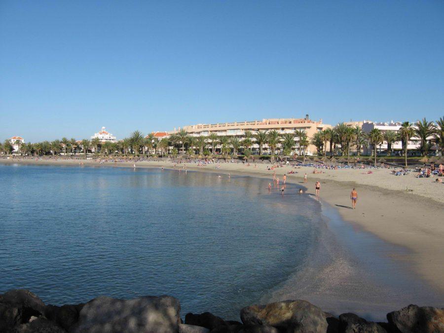 Пляж Плайя-де-Лос Кристианос