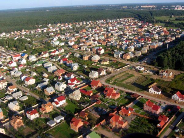 деревня Валерьяново