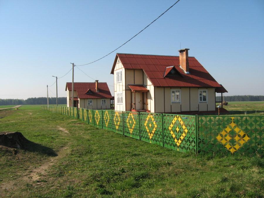 Белорусская деревня. д. Деревное