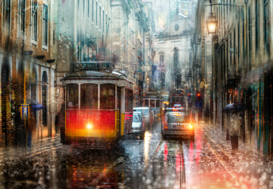 Дождь в лиссабоне